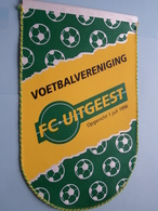 Voetbalvereniging FC UITGEEST Opgericht 1 Juli 1996 ( Zie Foto's ) Wimpel - Pennant ! - Voetbal
