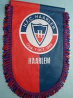 H.F.C. HAARLEM Opg. 1 Oct 1889 HAARLEM ( Zie Foto's ) Wimpel - Pennant ! - Football