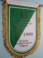 15e Internationale Cor Groenewegen Toernooi 1999 Stichting Voetbal Promotie Uitgeest ( Zie Foto's ) Wimpel - Pennant ! - Football