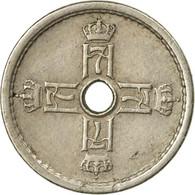 Monnaie, Norvège, Haakon VII, 25 Öre, 1949, TTB, Copper-nickel, KM:384 - Norvège