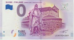 Billet Touristique 0 Euro Souvenir Finlande Suomi Finland 2018-1 N°LEAF004069 - EURO