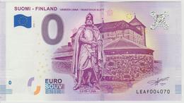 Billet Touristique 0 Euro Souvenir Finlande Suomi Finland 2018-1 N°LEAF004070 - EURO