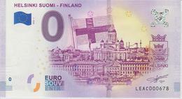 Billet Touristique 0 Euro Souvenir Finlande Helsinki Suomi Finland 2018-1 N°LEAC000678 - Essais Privés / Non-officiels