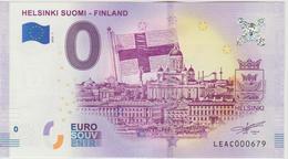 Billet Touristique 0 Euro Souvenir Finlande Helsinki Suomi Finland 2018-1 N°LEAC000679 - EURO