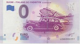 Billet Touristique 0 Euro Souvenir Finlande Suomi Finland DC-Yhdistys 2018-1 N°LEAK002251 - Essais Privés / Non-officiels
