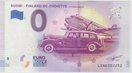Billet Touristique 0 Euro Souvenir Finlande Suomi Finland DC-Yhdistys 2018-1 N°LEAK002252 - EURO