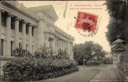Cp Saigon Cochinchine Vietnam, Palais Du Lieutenant Gouverneur - Viêt-Nam
