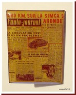 Pin's L'AUTO- JOURNAL - Simca - Other
