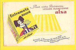 BUVARD  : Entremets Sucre ALSA - Cake & Candy