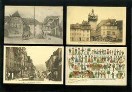 Beau Lot De 60 Cartes Postales De France Rhin ( Bas )   Mooi Lot Van 60 Postkaarten Van Frankrijk ( 67 ) - 60 Scans - Cartes Postales