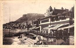 Monaco - Le Beach (1949, Gilletta Et Cie) - Bars & Restaurants