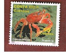 COSTA RICA  -  SG 1572  -  1994  MARINE LIFE: OCYPODE SP. -  USED ° - Costa Rica