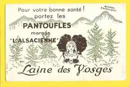 """BUVARD :Laine Des Vosges  Pantoufles Marque """"L'Alsacienne """" - Textile & Clothing"""