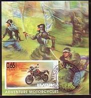BULGARIA / BULGARIE - 2016  - Motorbik - Bl Obl. Limite - Moto