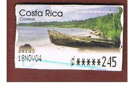 COSTA RICA  -  MI AT2 -  2002   ATM: PLAYA MANZANILLO     -  USED ° - Costa Rica