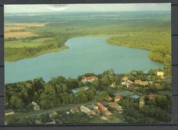 Deutschland Ansichtskarte WUSTRAU Ruppiner See Kr. NEURUPPIN (gesendet, Mit Briefmarke) - Deutschland