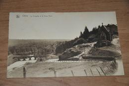 4186- CHINY- La Citadelle Et Le Vieux Pont - 1927 - Chiny