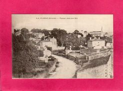 33 Gironde, Plassac, Plassac Dans Son Nid, église, 1912, (A. Hué) - France