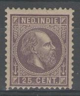 INDE Néerlandaise:  N°12 * (d.12,5x12)       - Cote 27,50€ - - Netherlands Indies