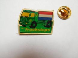 Beau Pin's , Camion Essence BP , British Petroleum Company , Truckstops , Drapeau Luxembourg - Fuels
