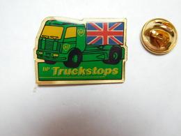 Beau Pin's , Camion Essence BP , British Petroleum Company , Truckstops , Drapeau Grande Bretagne - Fuels