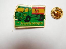Beau Pin's , Camion Essence BP , British Petroleum Company , Truckstops , Drapeau Espagne - Fuels