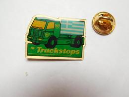 Beau Pin's , Camion Essence BP , British Petroleum Company , Truckstops , Drapeau Gréce - Fuels