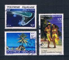 Französisch Polynesien Kleines Lot Gestempelt - Collections, Lots & Séries