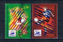 Frankreich 1998 Fußball Mi.Nr. 3270/71 Gestempelt - Frankreich