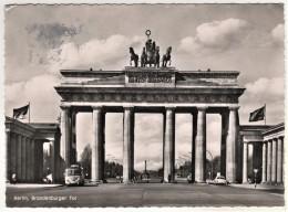 Berlin - S/w Brandenburger Tor 82 - Porte De Brandebourg