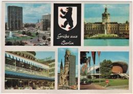 Berlin - Mehrbildkarte 374 - Allemagne