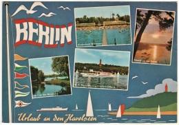 Berlin - Mehrbildkarte 382   Urlaub An Den Havelseen - Allemagne