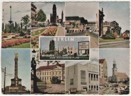 Berlin - Mehrbildkarte 389   Westlich Und Östlich Vom Potsdamer Platz - Duitsland