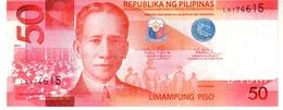 Philippines P.207 50 Piso 2015  Unc - Filippine