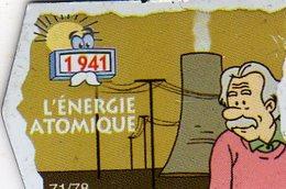 Magnets Magnet Le Gaulois Invention Date Energie Atomique 71 - Non Classés