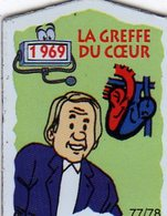 Magnets Magnet Le Gaulois Invention Date La Greffe Du Coeur 77 - Unclassified