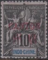 Canton Bureau Indochinois - N° 6 (YT) N° 6 (AM) Neuf *. - Canton (1901-1922)