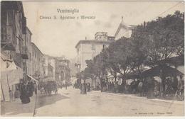 Italie  Ventimiglia Chiesa S Agostino E Mercato - Italie