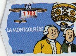 Magnets Magnet Le Gaulois Invention Date La Montgolfiere 41 - Unclassified