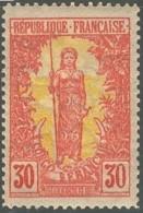 Congo Français 1892-1900 - N° 35 (YT) N° 35 (AM) Neuf *. - Congo Français (1891-1960)