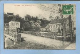 Villeray (Condeau Sablons-sur-Huisne 61) Pont De L'Huisne Et Moulin 2 Scans 18-07-1912 Carte Animée - France