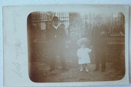 RESINA - ERCOLANO - GRUPPO FAMILIARE OTTOBRE 1907 - CARTOLINA DI 111 ANNI!!! - Ercolano