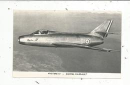 Chromos & Images , Aviation , Avion,MYSTERE IV , Marcel Dassault , Militaria - Vieux Papiers