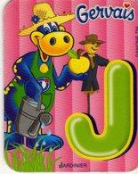 Magnets Magnet Gervais Danomino Alphabet J - Letters & Digits