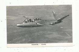 Chromos & Images , Aviation , Avion, MAGISTER  - FOUGA , Militaria - Vieux Papiers