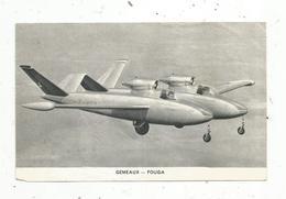 Chromos & Images , Aviation , Avion, GEMEAUX  - FOUGA - Vieux Papiers