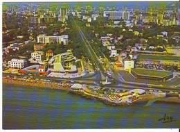CPM/CPSM - MARSEILLE - Rond Point De La Plage Et Avenue Du Prado - Castellane, Prado, Menpenti, Rouet