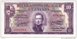 Uruguay P.37 10 Pesos 1939 A-unc - Uruguay