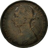 Monnaie, Grande-Bretagne, Victoria, Penny, 1891, B+, Bronze, KM:755 - 1816-1901 : Frappes XIX° S.