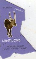 Magnets Magnet Brossard Afrique L'antilope - Tourisme